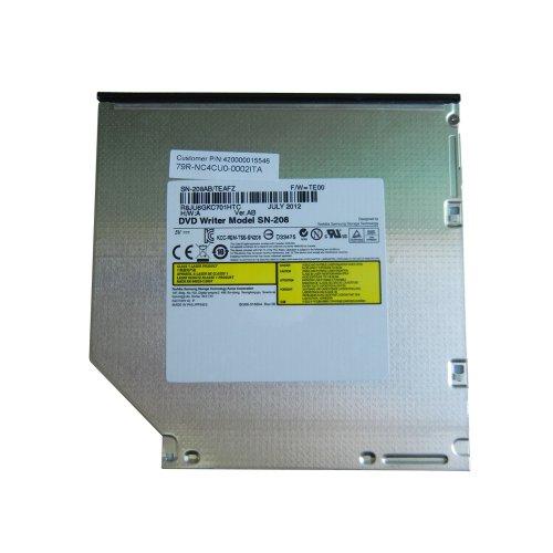Samsung Original SN-208 - Masterizzatore lettore interno per DVD, in sostituzione del modello L633, per tutti i modelli di PC portatile con connessione SATA e vano per unità di disco da 12,7 mm, ad esempio HP Pavillion DV3 DV5 DV6 DV7 DV8 Compaq 6730b 6735s NW8440 Presario CQ60 CQ62, Fujitsu Amilo Pi3560 Lifebook T900 A530 A1130, Toshiba Tecra M10-1D7 Satellite C660 L650D, Acer Aspire 5930G 6930G 5530G 7750G, Samsung R560 R525 Eikee NP-R780-JS03DE Aura Q320 Q210, Dell Inspiron 1545 1750, Sony Vaio VPC-CW2S1E L VPC-EB3Z1E BQ VPC-EB4X1E BQ VGN-BZ26M VPC-F11Z1 E VPC-EB1S1E BJ ecc.