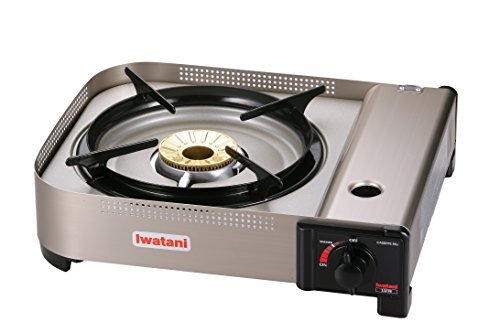 Iwatani Corporation of America 35FW butane stove, Medium, Metallic