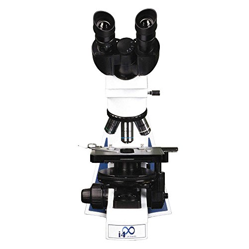 LW Scientific I4M-BU4A-ISLP i4 Binocular Microscope, 4 Infinity Semi-Plan objectives, 90V to 240V