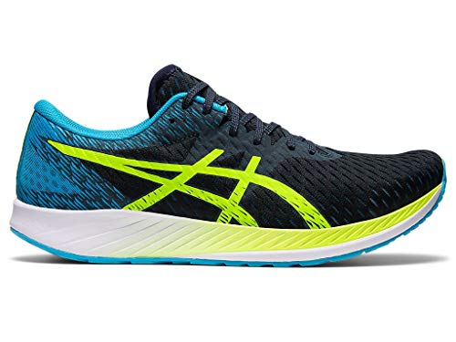 ASICS Men's Hyper Speed Running Shoes, 8.5M, French Blue/Hazard Green