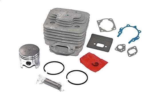 44 mm Zylinder + Kolben + Dichtungen für Fuxtec MFS520, FX-PS152, FX-MT152, 4in1 Motorsense Freischneider