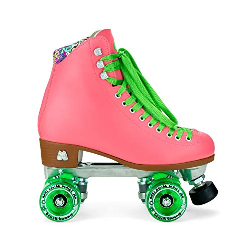 Moxi Skates – Beach Bunny – modische Damen-Rollschuhe | Wassermelone | Größe 43