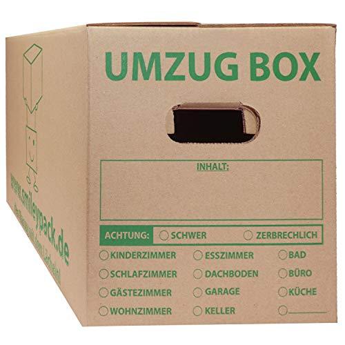 30 cajas de mudanza de 620 x 300 x 330 mm hasta...