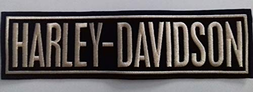 Generico Grande Toppa Patch Rettangolare Harley Davidson