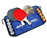 JOOLA Family Premium Table Tennis Bundle Set - 4 Regulation Ping Pong Paddles, 10 Training 40mm Ping Pong...