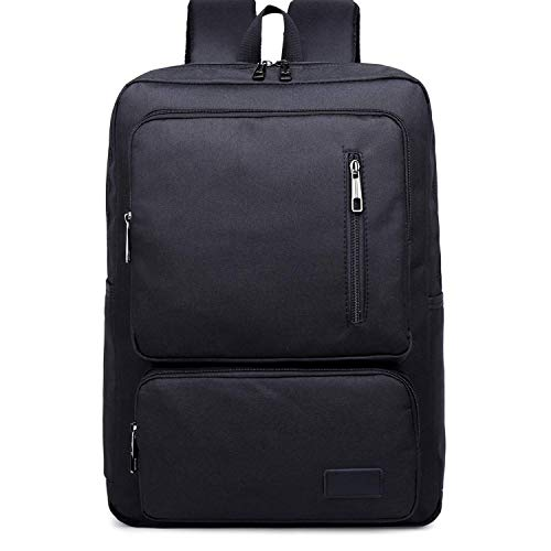 SHRAY Backpacks/Sleeves Fashion Large Capacity Casual Notebook Tablet Backpack, Product Size: 44cmx30cmx12cm (Color : Brown) Black