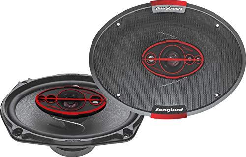 Songbird 6''x9'' Oval 650W Max 5 Way SB-B69-96 Coaxial Car Speaker