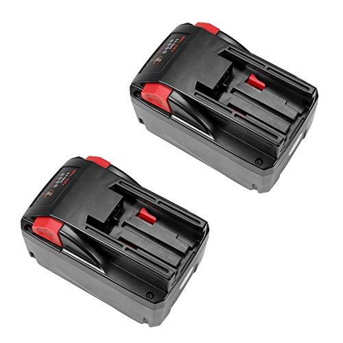 2x TradeShop Hochleistungs Li-Ion Akku 28V 3000mAh für AEG Milwaukee V28BS V28CS V28H V28HX V28IW V28MS V28PD V28SG V28SX V28VC Flex Würth 28V-Akku ersetzt 48-11-1830, 48-11-2850