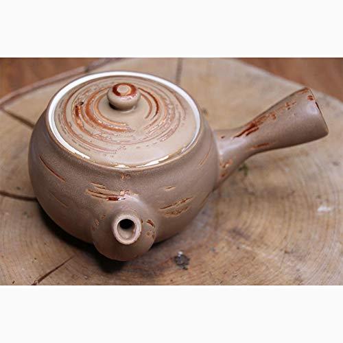 TEASOUL Keramik 400 ml sehr erinnert in Stil und Form der typische japanische Teekannen, wie die Kyûsu und die Tokoname, None