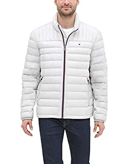 Tommy Hilfiger Men's Real Down Insulated Packable Puffer Jacket, Ice, Small (B082PLZZN5) | Amazon price tracker / tracking, Amazon price history charts, Amazon price watches, Amazon price drop alerts