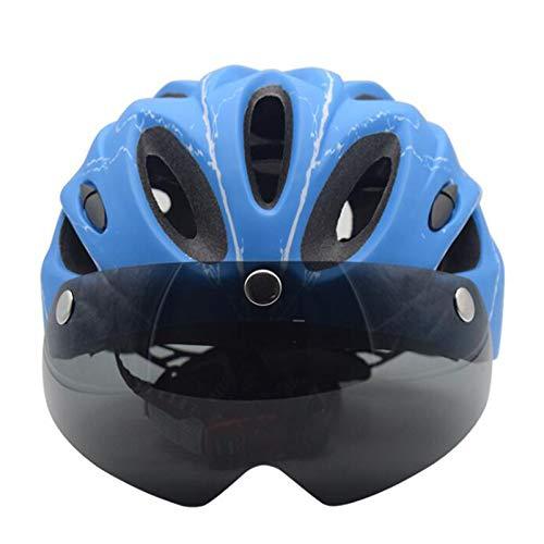 SHGK Casco de Bicicleta Carretera Casco de Montar en Bicicleta de montaña...