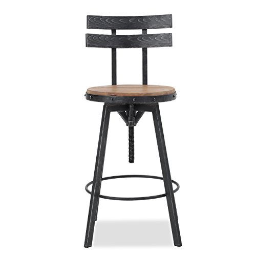 Christopher Knight Home Alanis Firwood Barstool, 39