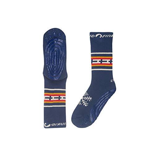 Finkid Unisex Socken TAPSUT 1652001 in blau, Farbe:Blau, Kleidergröße:19/22