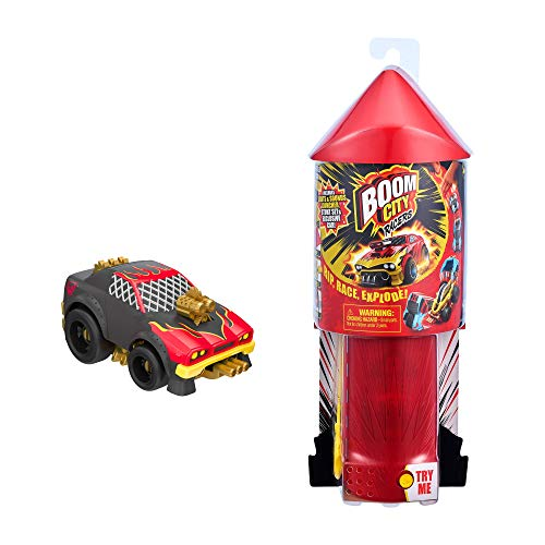 Boom City Racers-  Lights & Sounds Launcher with Car
