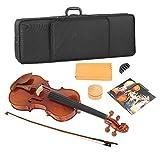 Accesorios para instrumentos musicales de violín de madera durables 4/4 para uso profesional
