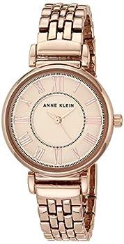Anne Klein Women s AK/2158RGRG Rose Gold-Tone Bracelet Watch