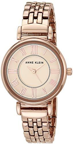 Anne Klein Women's AK/2158RGRG Rose Gold-Tone Bracelet Watch