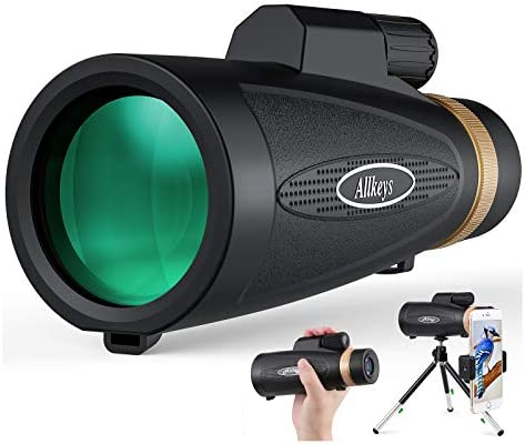 Allkeys 16x55 High Definition Monocular Telescope and Quick Smartphone Holder 2020 Newest Waterproof product image