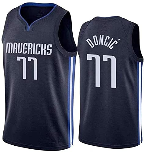 Mavericks - Camiseta de baloncesto para baloncesto, camiseta deportiva, chaleco bordado de verano, ropa de fiesta de hip hop, A - L