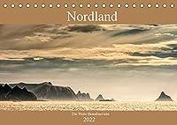 Nordland - Die Weite Skandinaviens (Tischkalender 2022 DIN A5 quer): Die pure Natur der skandinavischen Landschaft im Bild miterleben, das zeigt dieser Kalender. (Monatskalender, 14 Seiten )