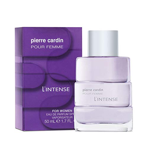 Pierre Cardin - Parfum Femme - L'Intense Eau de Parfum 50ml - Cadeau femme - Vaporisateur Parfum - Parfum Oriental - Parfum Vanille