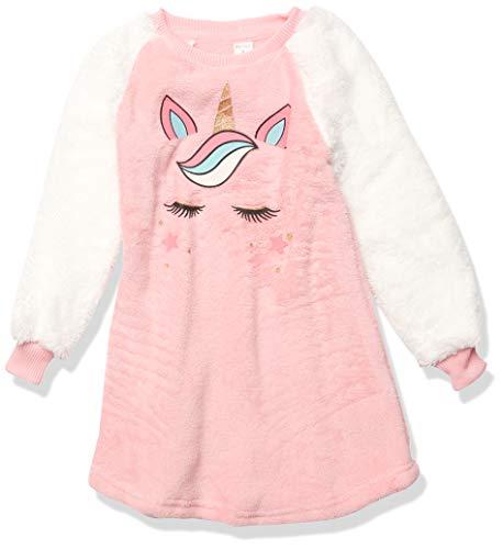 Petit Lem Girl L/S Nightgown Knit, 401 Lt. Pink, 4