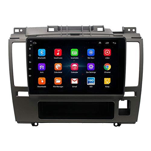 Amimilili Autoradio Radio De CocheAndroid 9.1 GPS Radio 2 DIN estéreo Multimedia para Nissan Tiida 2005-2010 con GPS/Bluetooth/USB/FM/Mandos del Volante,8 Cores 4g+WiFi:4+64g