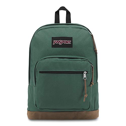 JanSport Right Pack 15 Inch Laptop Backpack - Any Occasion Daypack, Blue Spruce