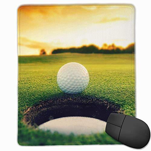 Alfombrilla de ratón Alfombrilla de ratón para Campo de Golf Alfombrilla de cursor Antideslizante Impermeable Bonitos y exquisitos Accesorios de Escritorio (25x30cm)