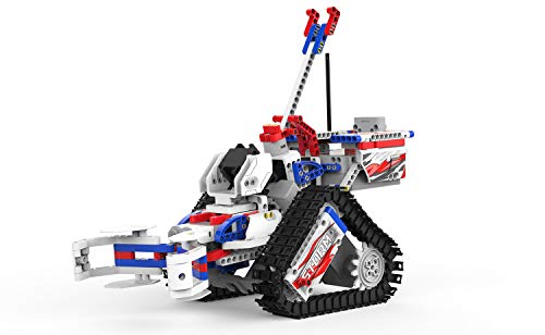 UBTECH JIMU Robot Competitive Series: Champbot Kit/ App-Enabled Building & Coding STEM Robot Kit (522 Pcs) from Robotics
