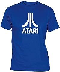 Camisetas EGB Camiseta Atari Adulto/niño ochenteras 80´s Retro