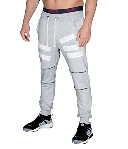 BetterStylz, StrongBZ, trainingsbroek voor heren, regular fitness, broek met prints in 2 kleuren (S-XL)