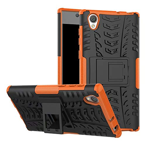 Jielangxin Funda para Sony Xperia XA Ultra,Teléfono con Soporte a Prueba de Golpes Funda para Sony Xperia XA Ultra F3212 F3213 F3215 F3216 F3211 Carcasa Case Funda Orange