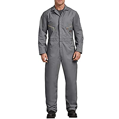 Dickies Men's 7 1/2 Ounce Twill Deluxe Long Sleeve Coverall, Gray, Large Tall by Dickies Men's Sportswear