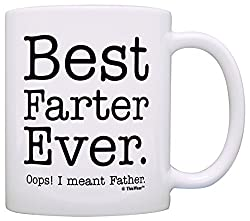 it reads best farter ever oops i meant father and is rightfully the best christmas gift for the best dad ever - Best Christmas Gift For Dad