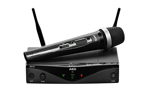 Akg - Wms-420 vocal capsula d-5 microfono inalambrico mano banda u1
