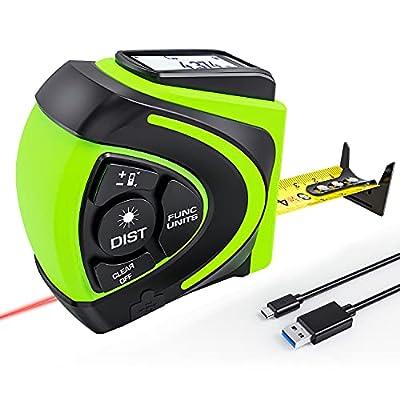 Amazon - 40% Off on Laser Tape Measure 2 in 1,  Laser Measure 131Ft/40M