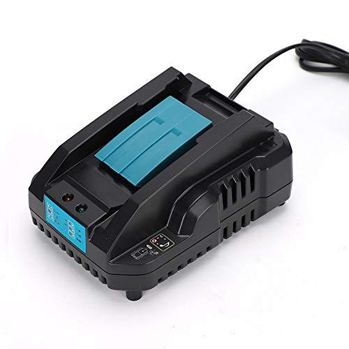 AMONIDA Reemplazo para Makita 14.4v-18v Cargador Universal de Herramientas eléctricas DC18RA DC18RC 100-240V con Carga de Doble Pulso Inteligente Rendimiento Estable(YO)