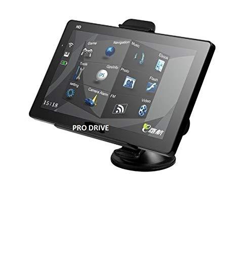 7' GPS Navigatore PRO-DRIVE Per Camion,Bus, Auto 8GB, con Telecamera Wireless, Bluetooth, Aggiornamento Gratuito Per Mappa Europea