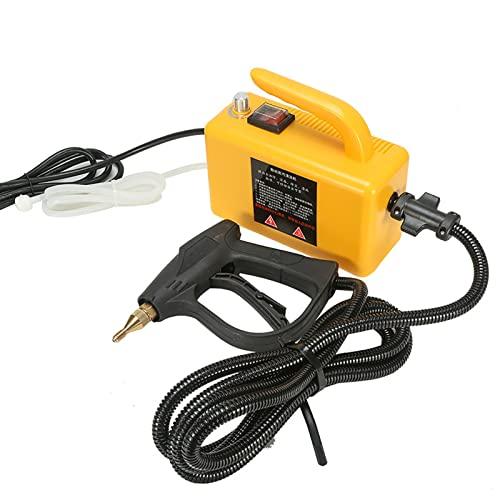 CHJ Limpiador a Vapor de Alta Temperatura de 220 V, Limpiador de Vapor presurizado de Mano, para Aire Acondicionado de Campana, mostradores, electrodomésticos, Ventanas, automóviles