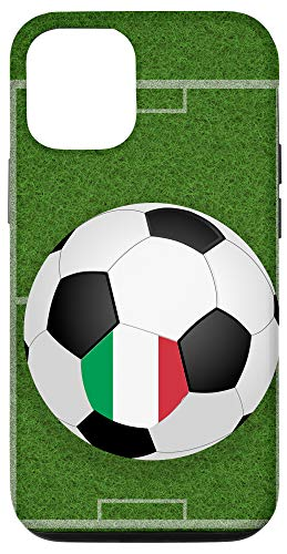 iPhone 12/12 Pro Soccer Ball Player Italy National Flag...