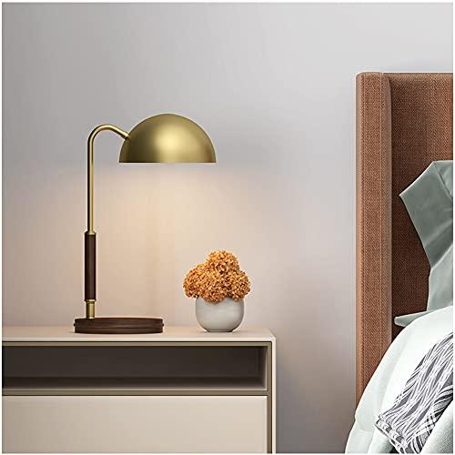 Lámpara de Mesa Luz Nocturna Adecuada para Dormitorio Sala de Estar Estudio Lámpara de Escritorio Lámpara de Lectura Lámpara de Mesa Decorativa Retro Interruptor de Botón