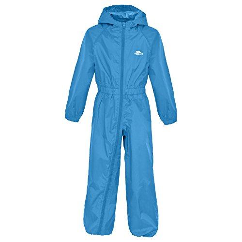 Trespass Button Babies Rain Suit Cobalt 6/12