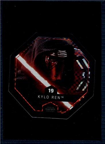2017 Winn Dixie Star Wars Cosmic Shells Foil #19 Kylo Ren NM-MT