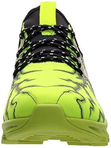 BRONAX Zapatos para Correr Hombre Zapatillas de Deportes Tenis Deportivas Running Calzado Trekking Sneakers Gimnasio Transpirables Casual Montaña Verde 43