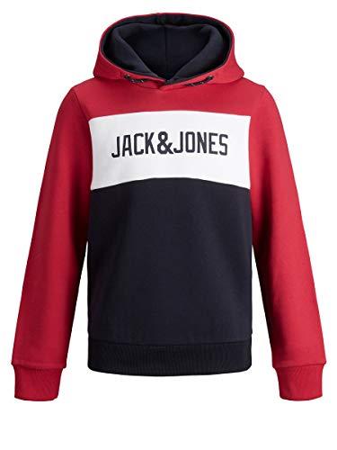 JACK & JONES Boy Hoodie Jungs Logo Sweat 176Tango Red