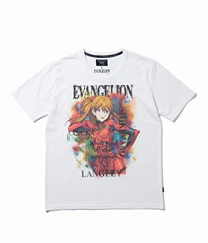glamb×EVANGELION エヴァンゲリオン Asuka T 式波・アスカ・ラングレー (ホワイト, S)