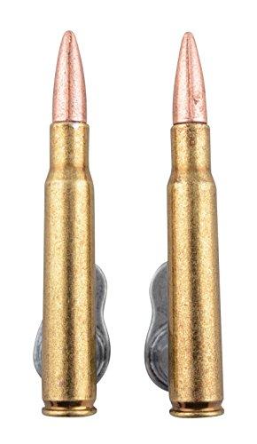 Paar Wandhalter für Springfield Gewehr, Patronen 30-06 Attrappen, ausziehbar