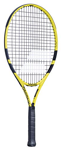Babolat Nadal Jr 25 Raqueta, Adultos Unisex, Jaune Noir (Multicolor), 0