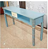 ACYY Manicure Nail Table Retro Nail Table Net Red Simple Hornear Pintura Individual Double Triple Nail Table Y Silla Set (Color : Table140cm)